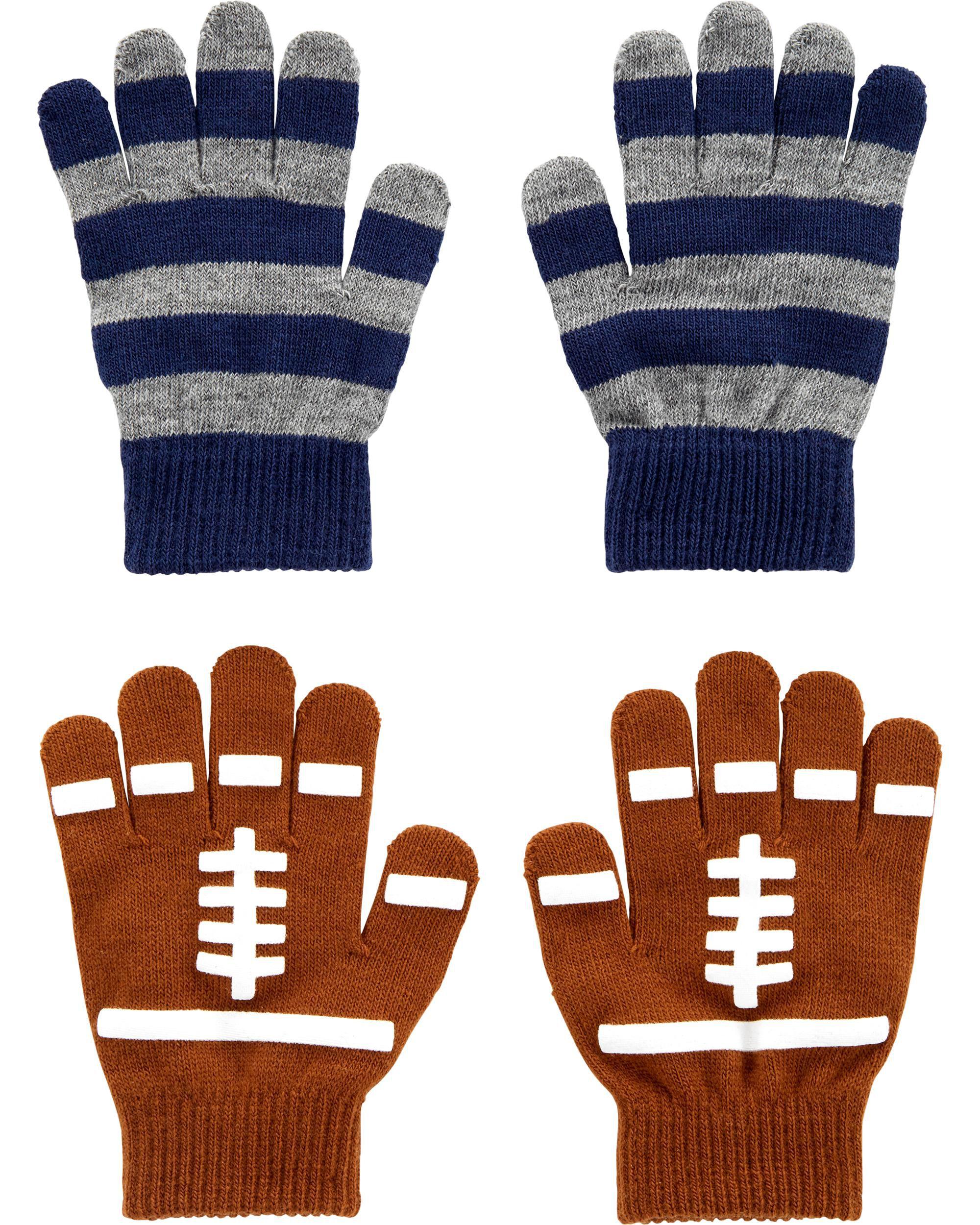 *DOORBUSTER*2-Pack Football Gripper Gloves