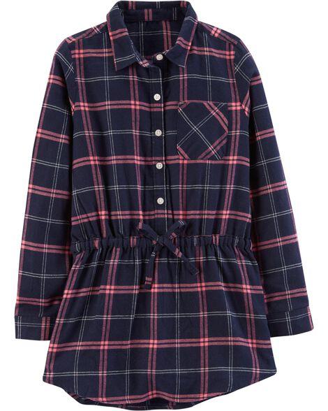 Plaid Flannel Tunic