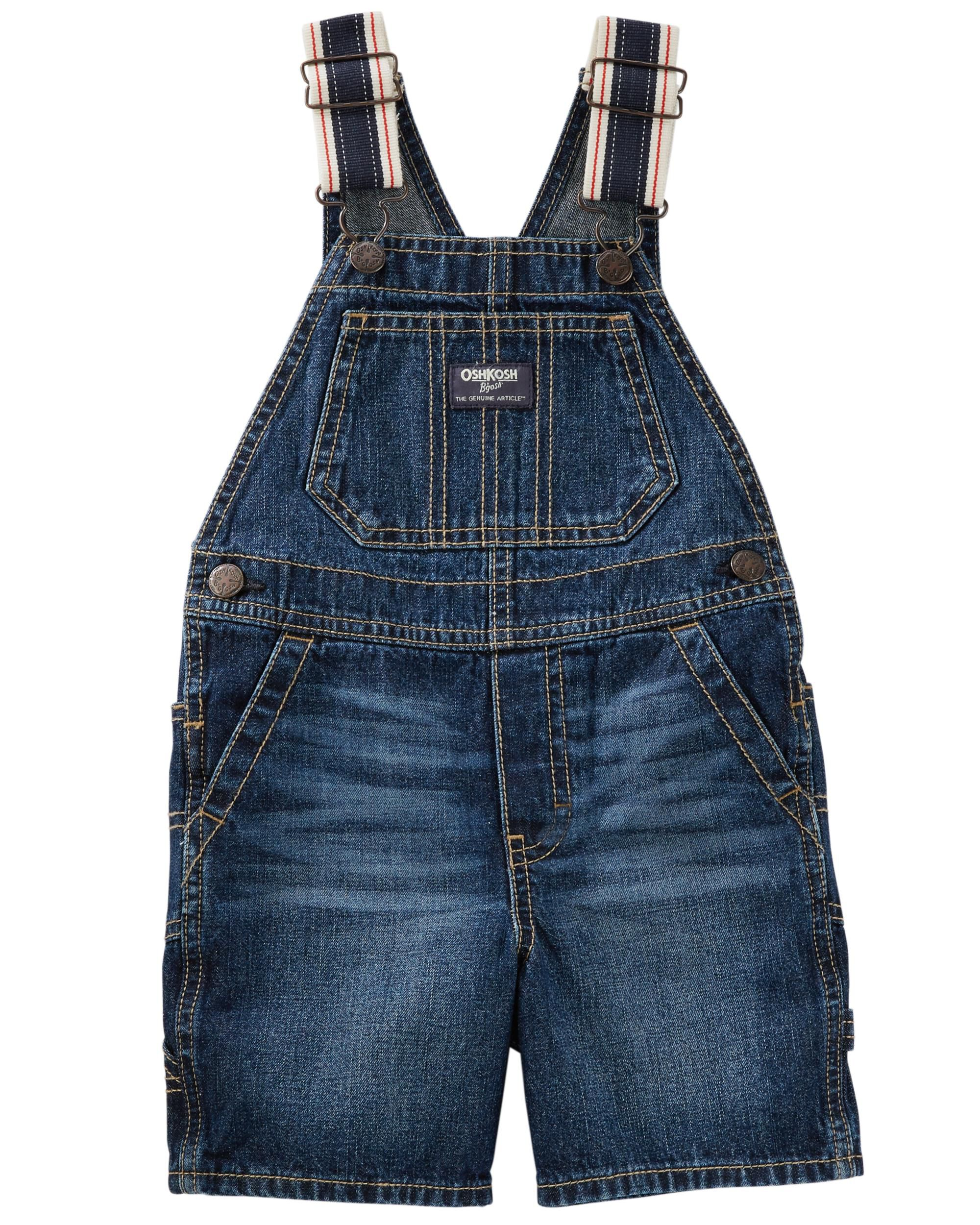Practical Baby Toddler Kids Girls Denim Overalls Suspender Bib Pants Short Trousers 1-6t Clothing Sets