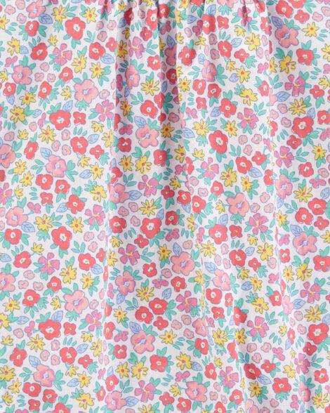 Flutter Sleeve Floral Bodysuit