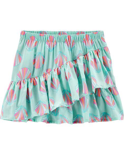 Seashell Ruffle Skirt