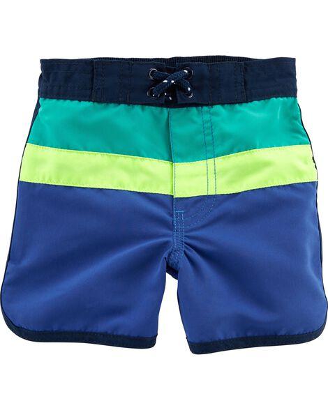 OshKosh Colorblock Swim Trunks