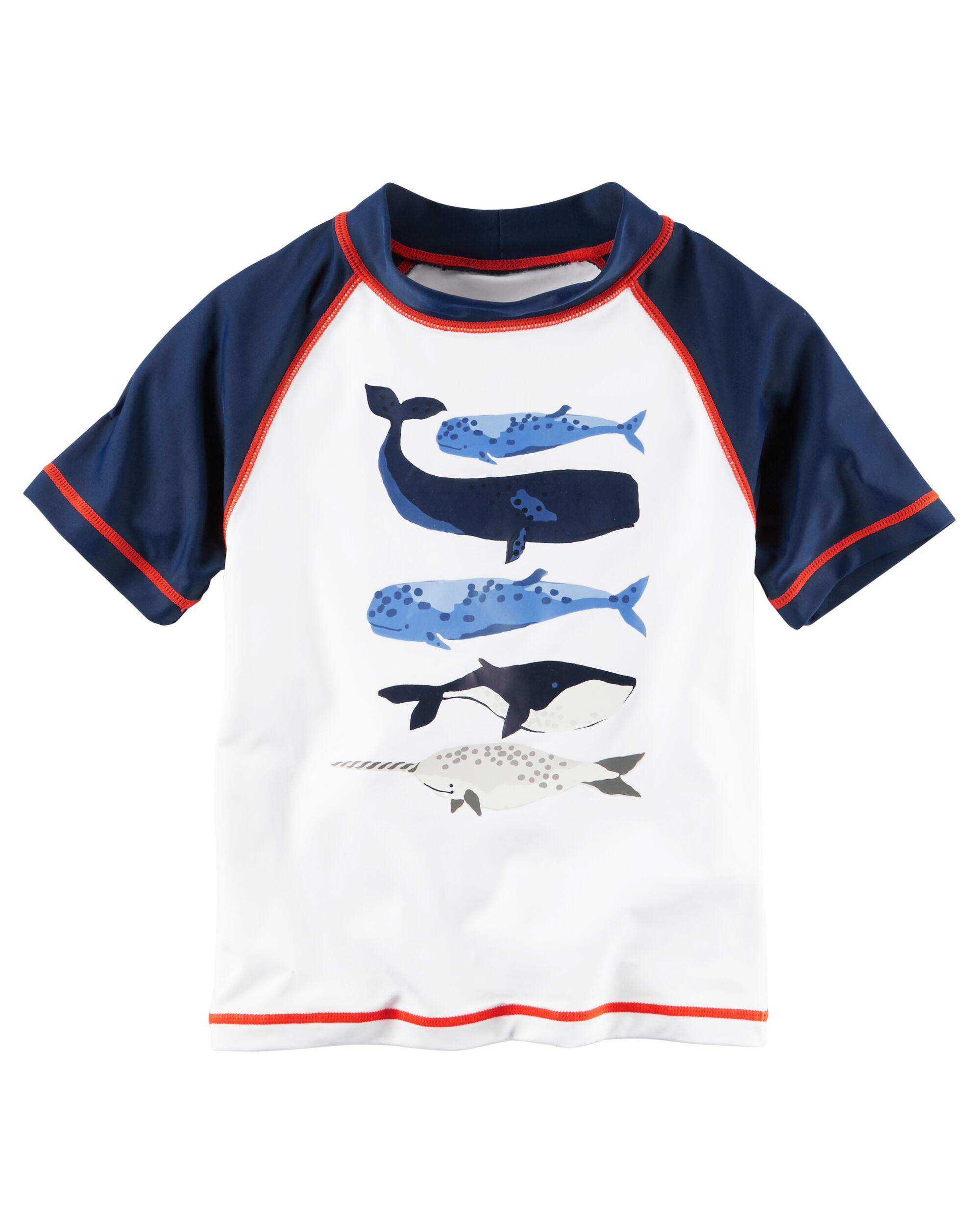 Toddler Boy Carter s Whale Rashguard