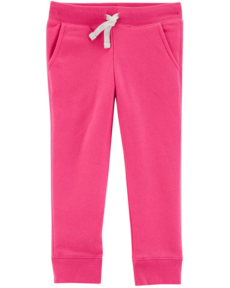 OshKosh Girls Logo Fleece Pants Sweatpants