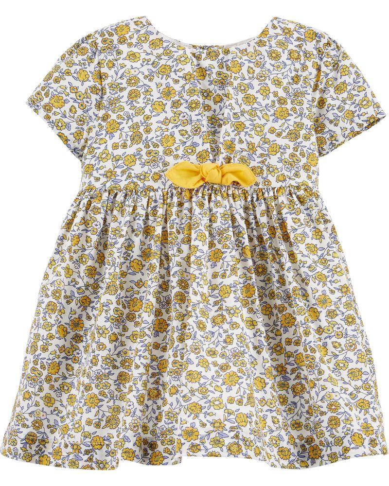 2Y-5Y Heritage Floral Dress for Girls OshKosh BGosh Blue