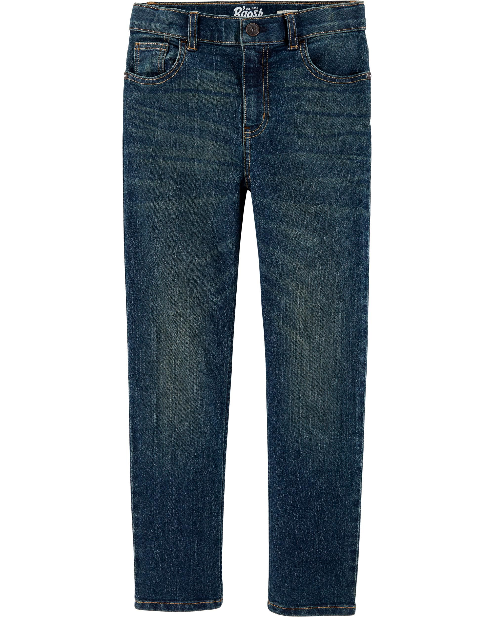*DOORBUSTER*Straight Jeans - Authentic Tinted Wash