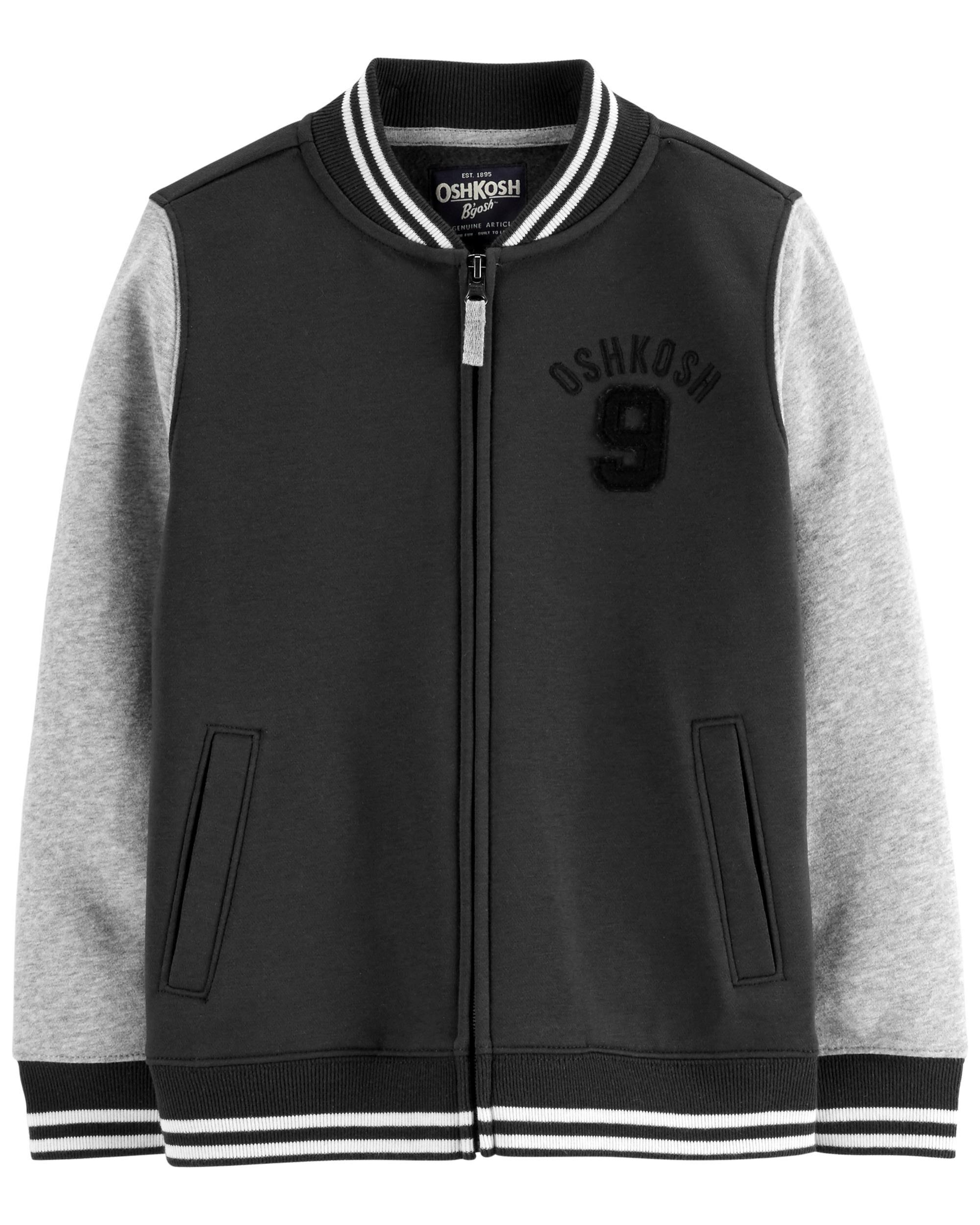 OshKosh BGosh Boys Varsity Jacket