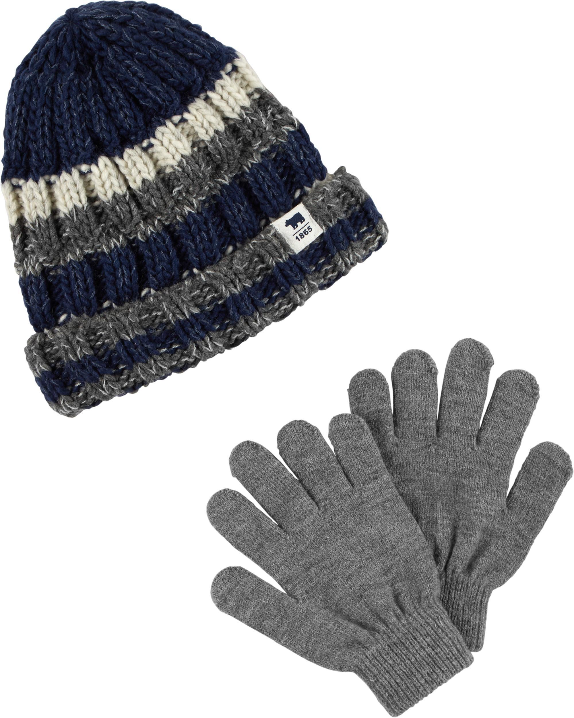 Striped Hat   Mitten Set. Loading zoom 00280b1510e3