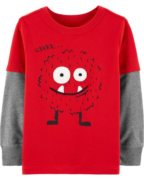 Layered Look Monster Tee