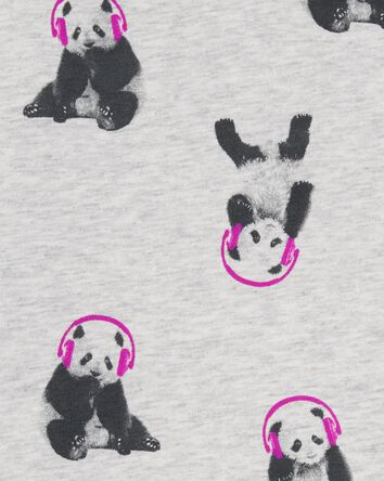 French Terry Panda Pullover