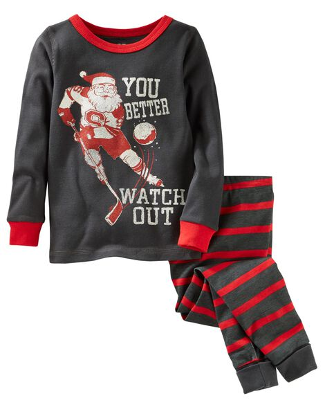 Images. 2-Piece Santa Snug Fit Cotton PJs 48c0a5067