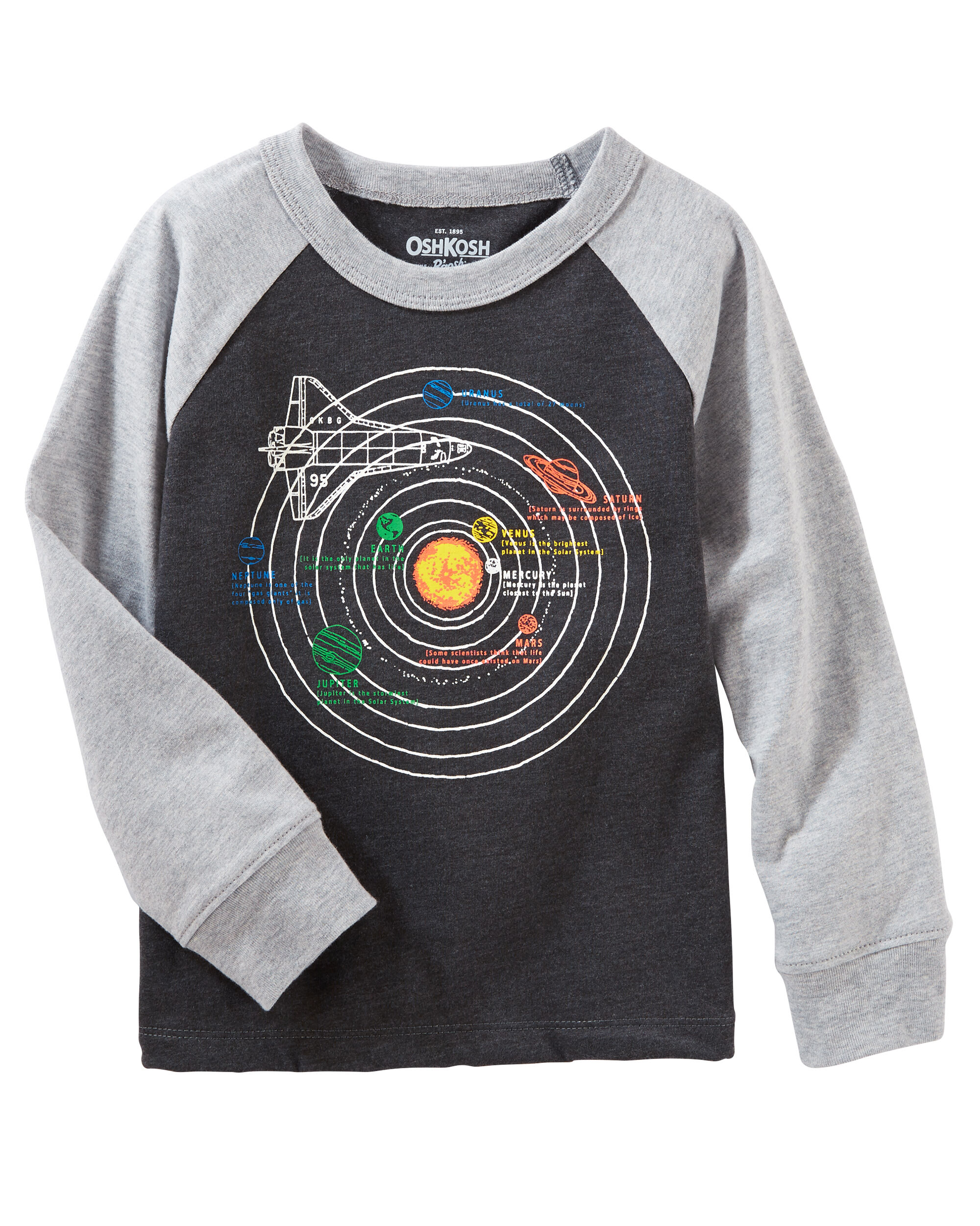 Toddler Boy Tops & T-Shirts | Oshkosh | Free Shipping