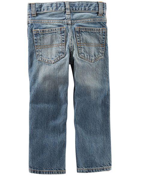 Straight Jeans - Natural Indigo Wash