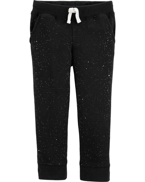 Glitter Fleece Pants