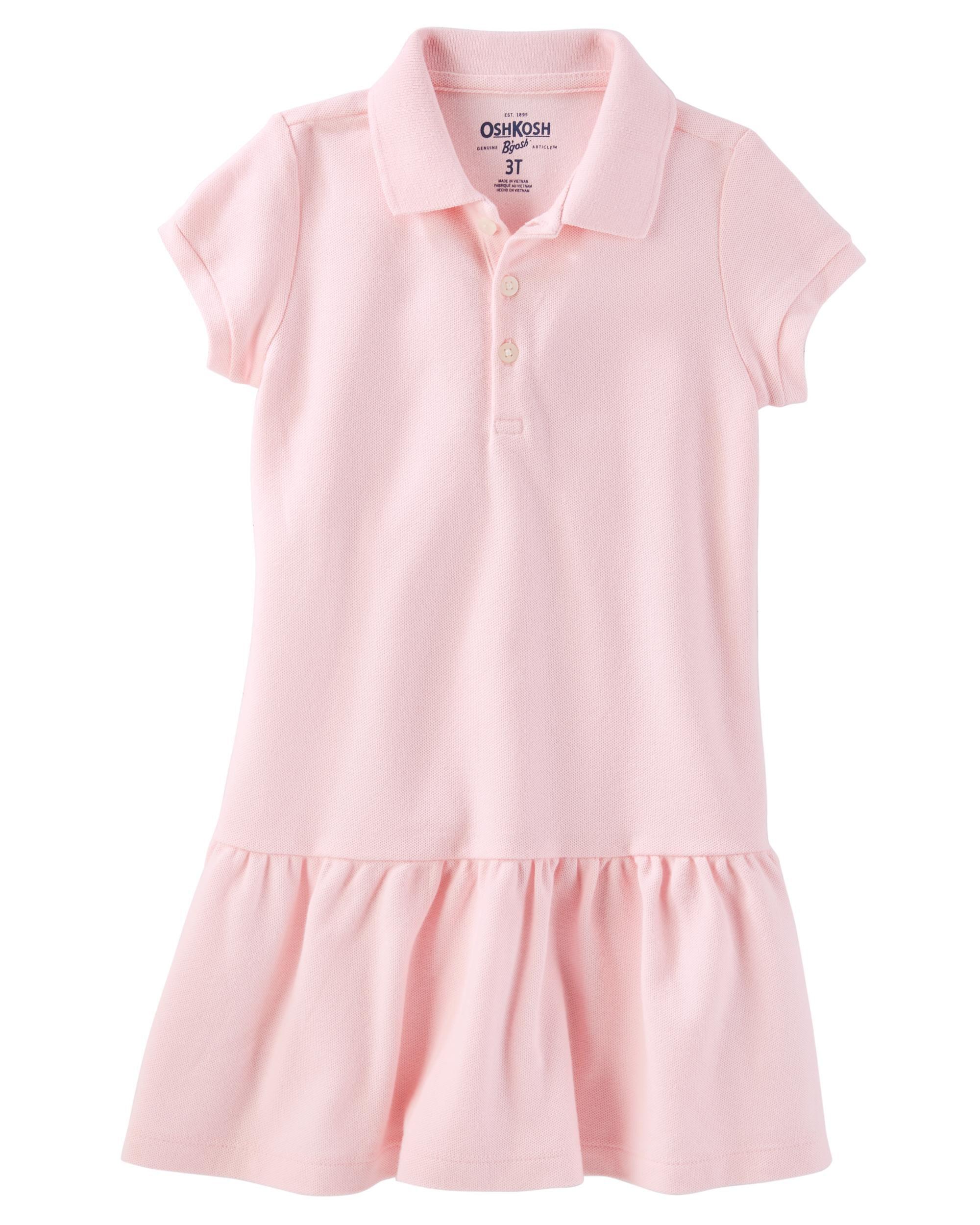 OshKosh BGosh Boys Toddler Short Sleeve Uniform Polo Osh Kosh