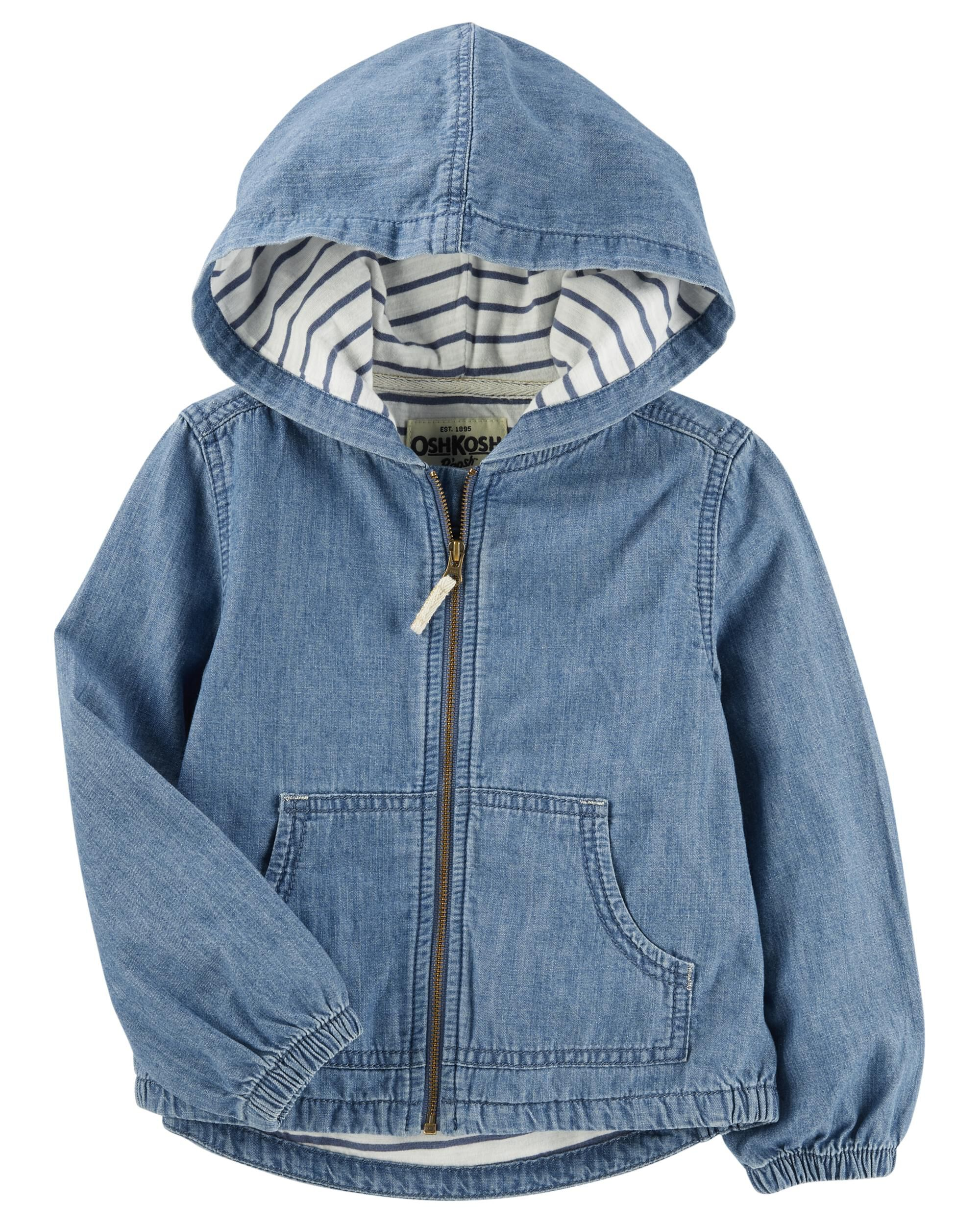 cd7dfb8f728d Hooded Denim Jacket