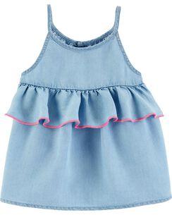 4d23a56bc7 Baby Girl Shirts & Tops | OshKosh | Free Shipping