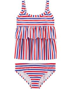 6dc40f40fec94 Baby Girl Swimwear & Bathing Suits | OshKosh | Free Shipping