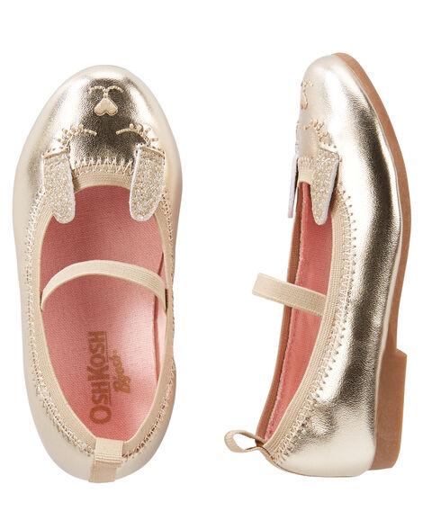 OshKosh Gold Bunny Flats