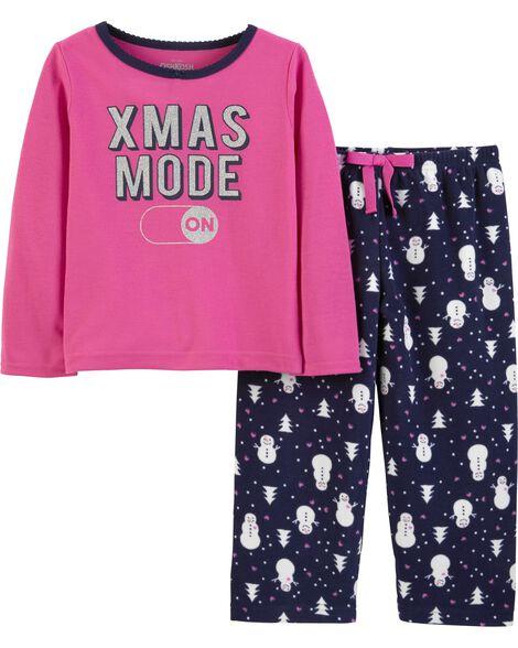 2-Piece Xmas Mode PJs