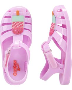9160f04026e5 OshKosh Popsicle Jelly Sandals