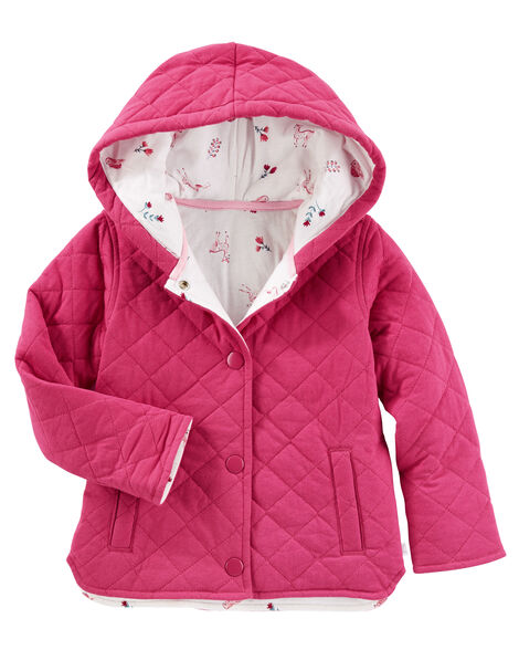 014701e53bb7 Quilted Jersey Jacket