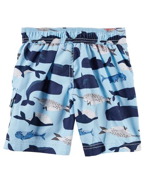 d14b0e04f5 Carter's Whale Swim Trunks; Carter's Whale Swim Trunks