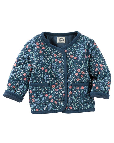 549f4586e279 Quilted Floral Jacket