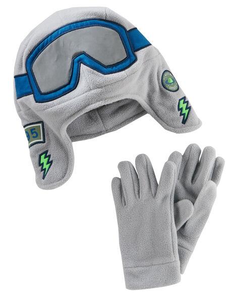 5c7d77b41 Trapper Hat   Gloves Set