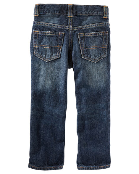 Straight Jeans - Authentic Tinted