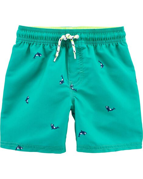OshKosh Whale Swim Trunks