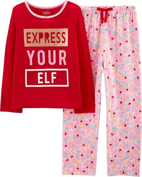 2-Piece Express Your Elf PJs