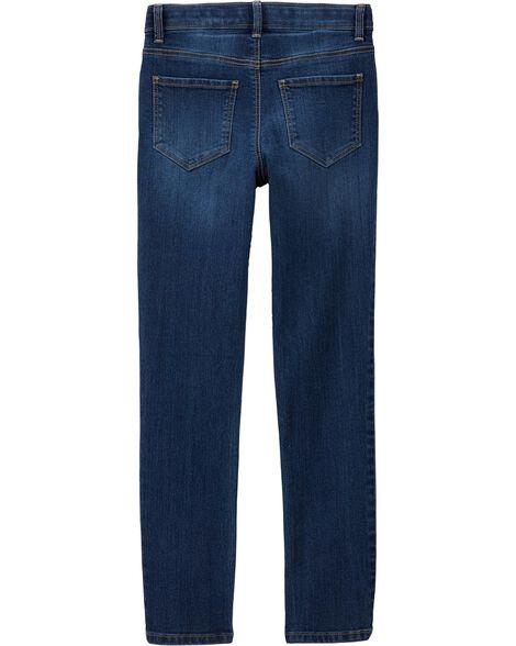 Skinny Jeans - Marine Blue Wash