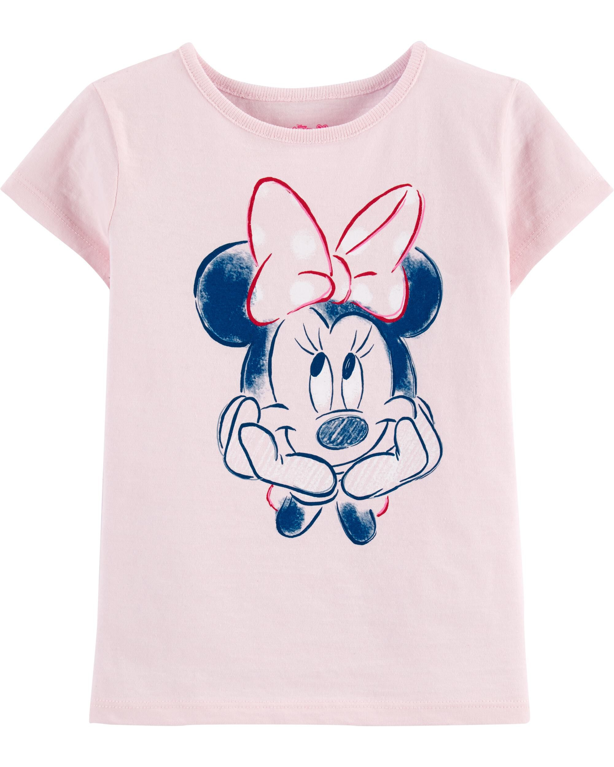 OFFICIALLY LICENCED TOP OFFICIAL KIDS CHILDRENS GIRLS MINNIE MOUSE T-SHIRTS