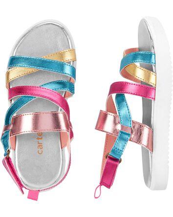 OshKosh BGosh Toddler and Little Girls Niva Fashion Sandal