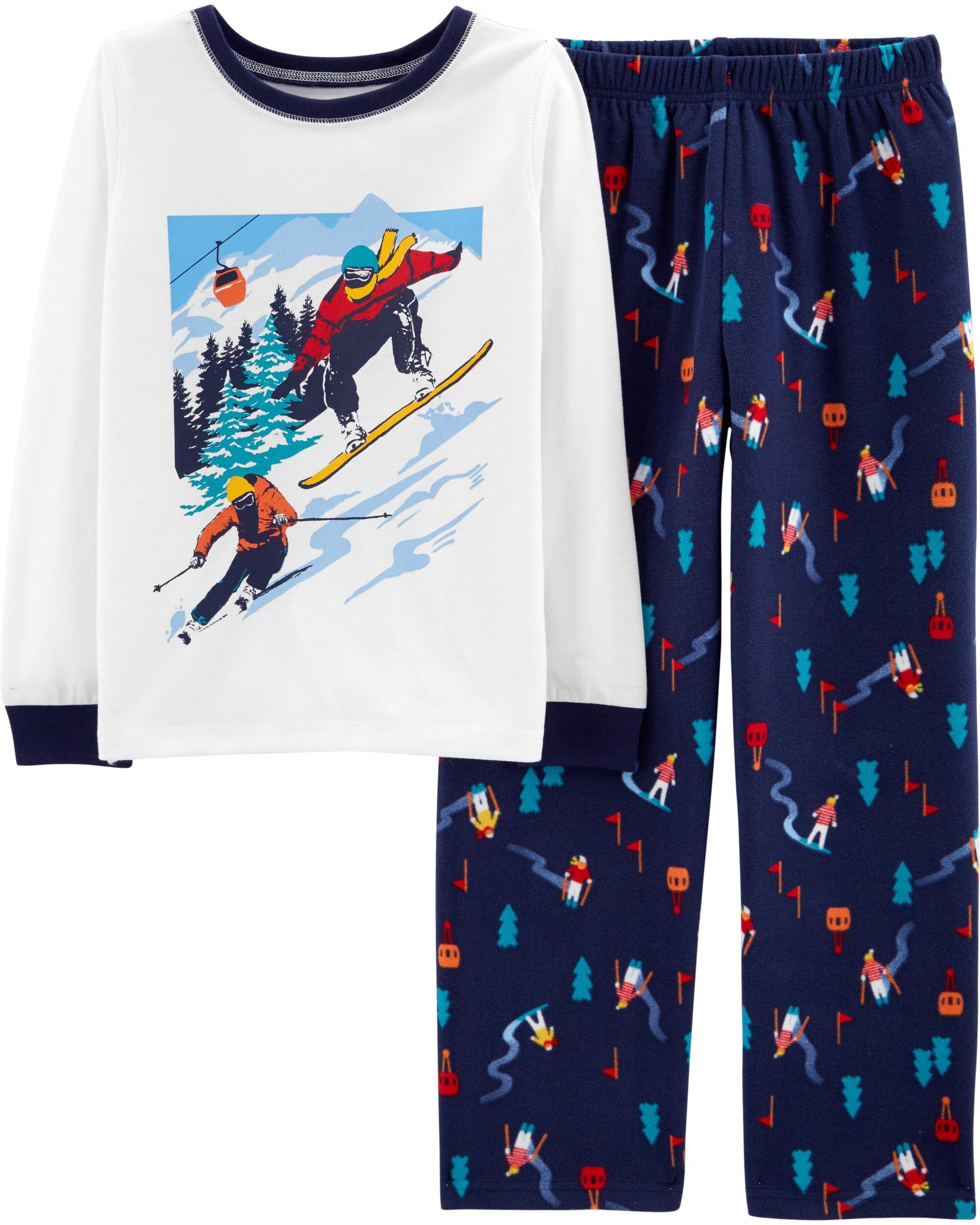 bccab8f64ff6 2-Piece Ski PJs