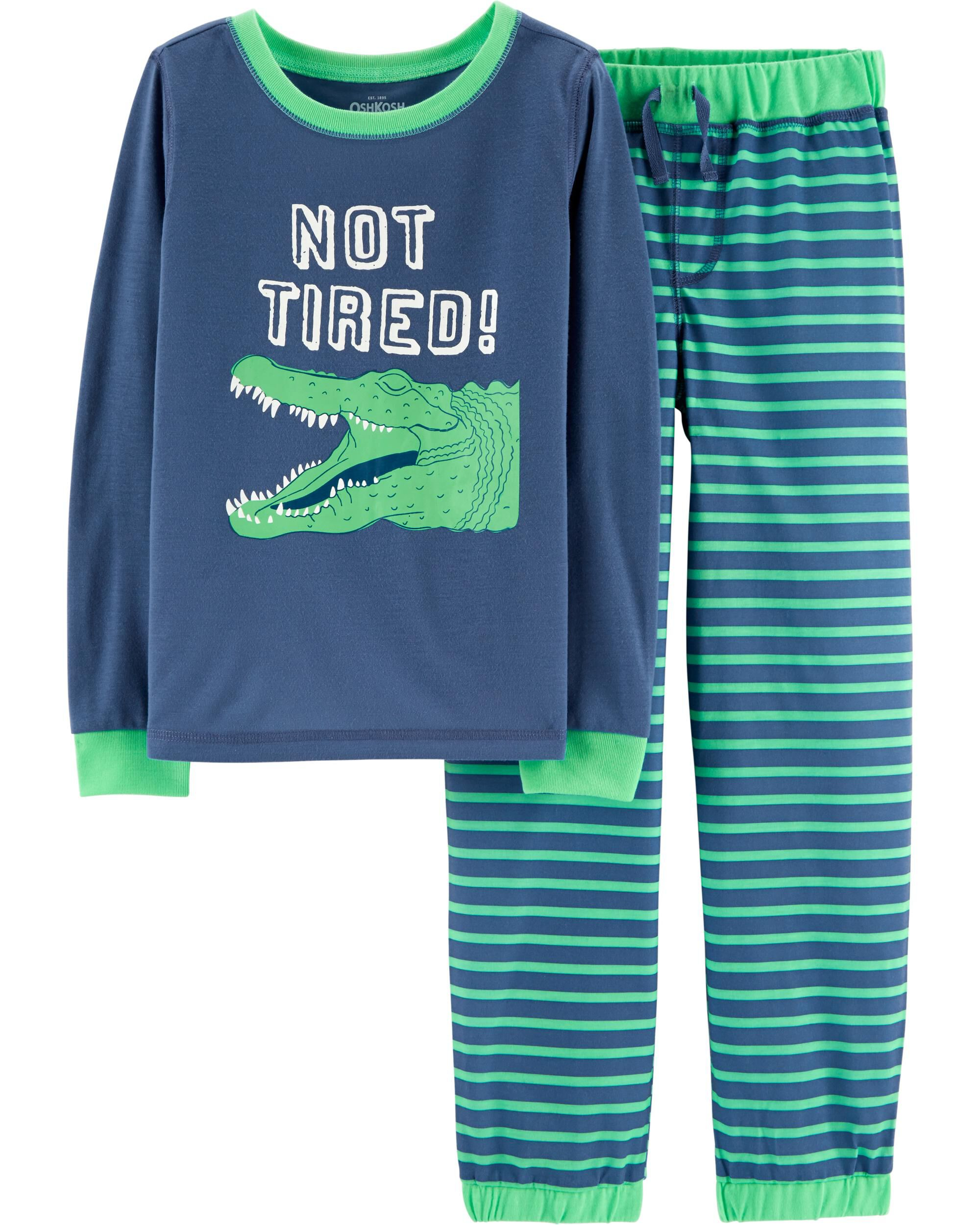8ac1faf05 2-Piece Alligator PJs