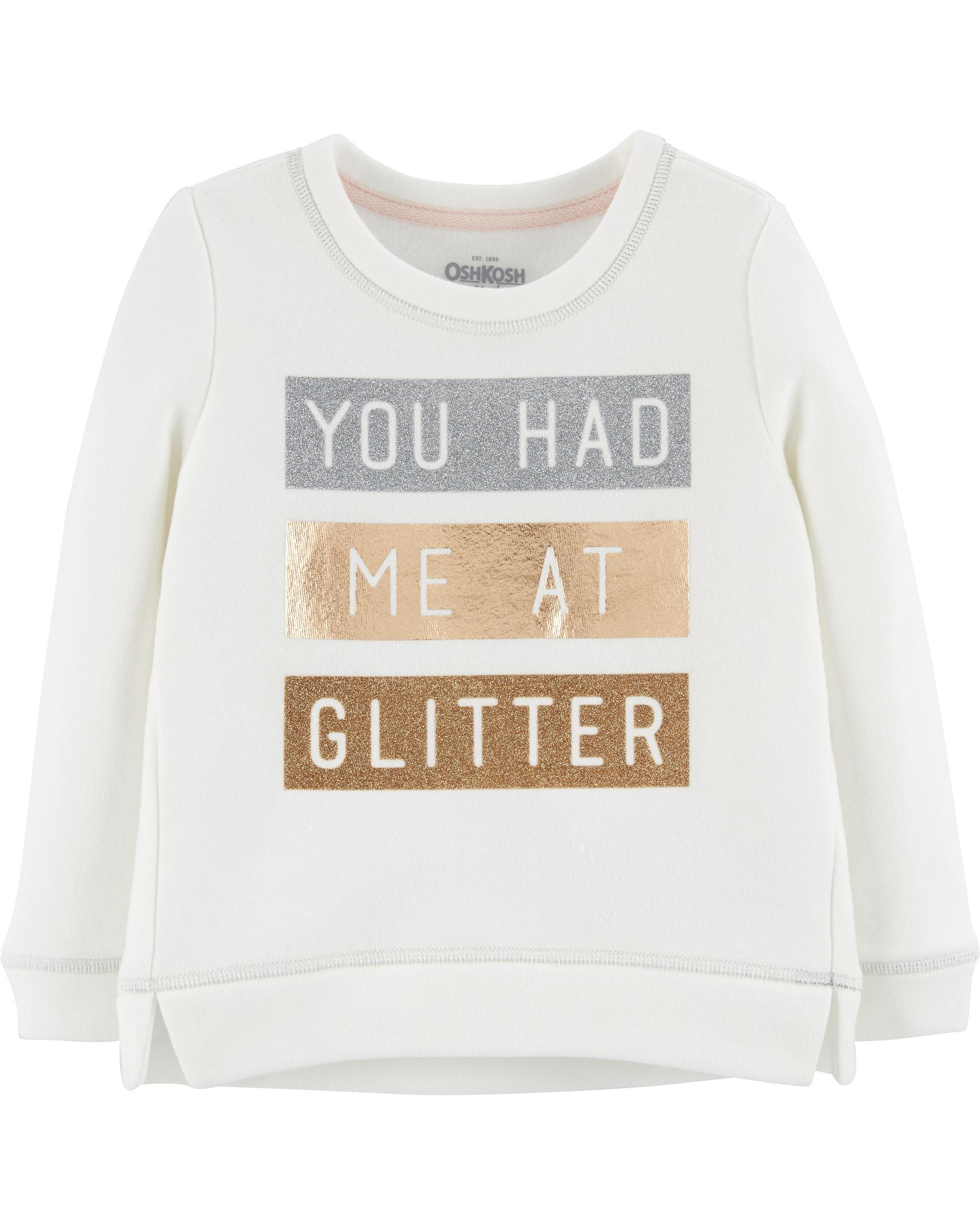 80540569c Glitter Pullover