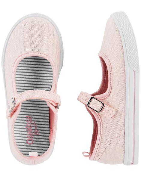 OshKosh Pink Glitter Mary Janes