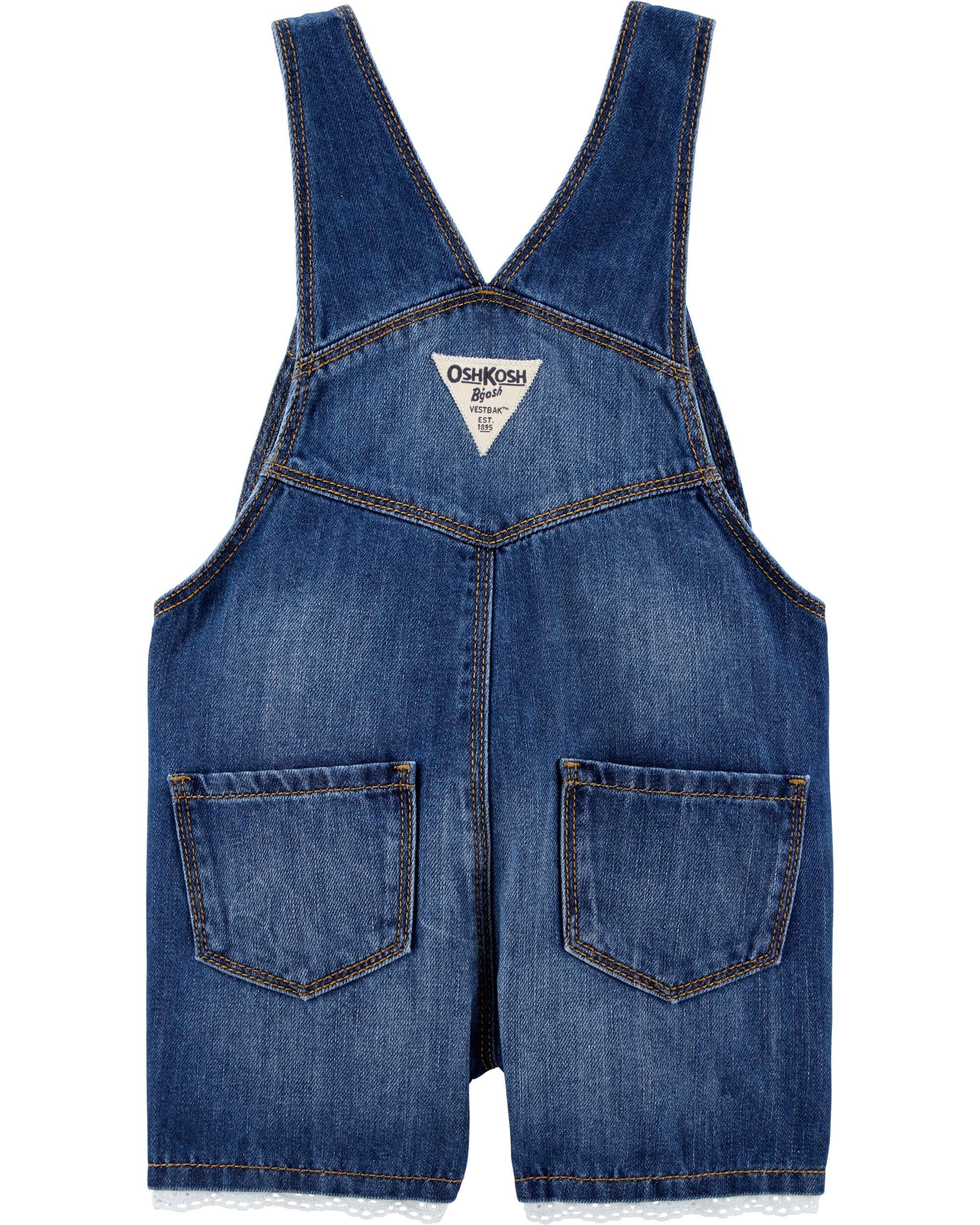 Baby & Toddler Clothing Oshkosh Baby Boy 9 Month White Vestbak Shortalls!! Clothing, Shoes & Accessories
