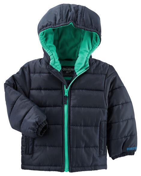 8290637ab Toddler Boy OshKosh Quilted Puffer Jacket