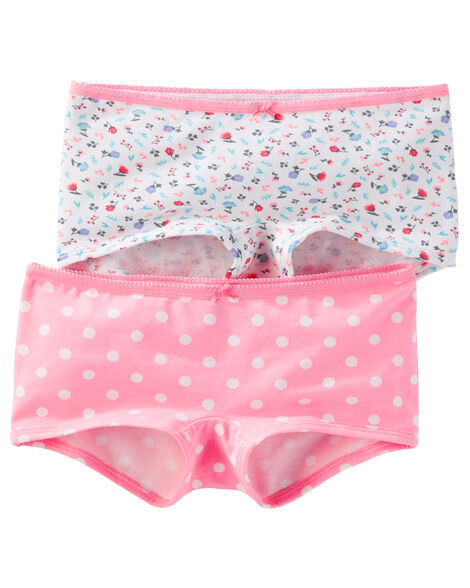 488b1a65937 Images. 2-Pack Stretch Cotton Boyshort Panties