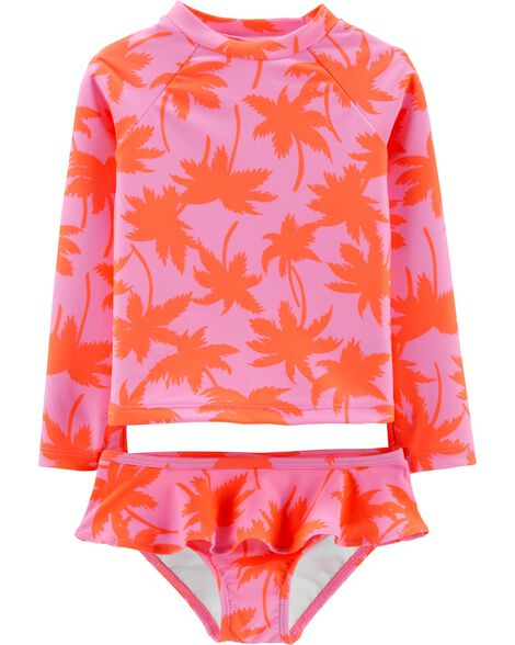 OshKosh Palm Tree Rashguard Set