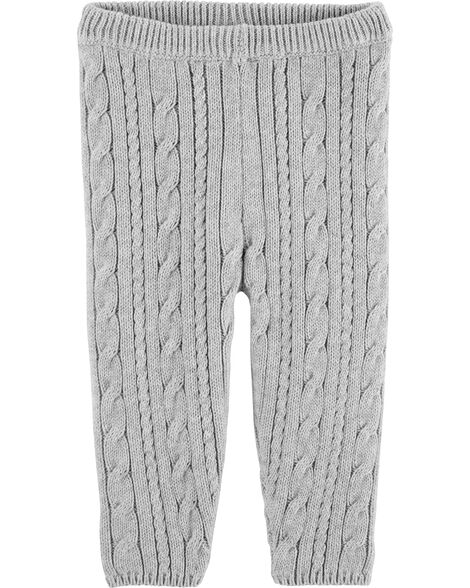 Cable Knit Pants