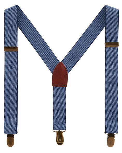 Chambray Suspender