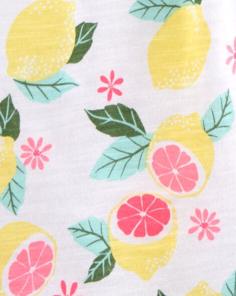 Lemon Jersey Top