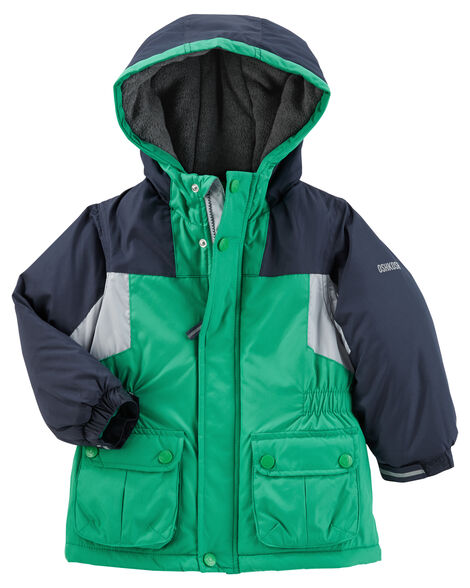 511123bbdc70 Colorblock Hooded Parka