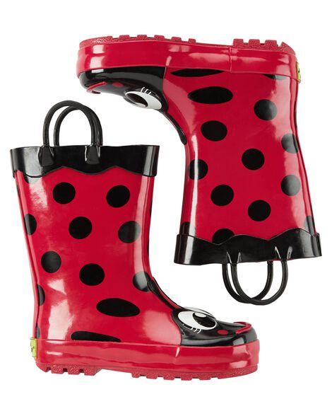 adf2a18aa32 Baby Girl Western Chief Ladybug Rain Boots
