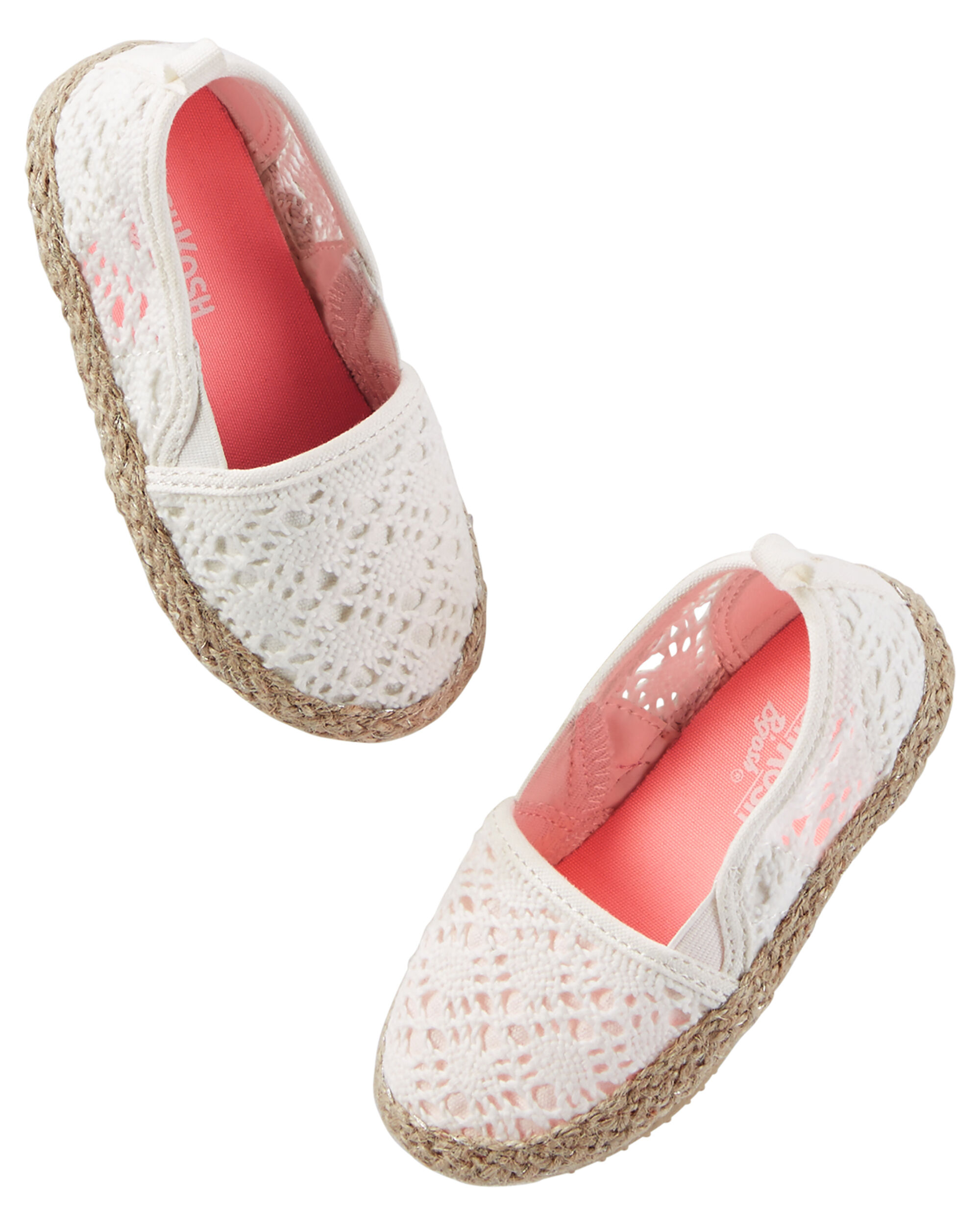 OshKosh Crocheted Espadrilles