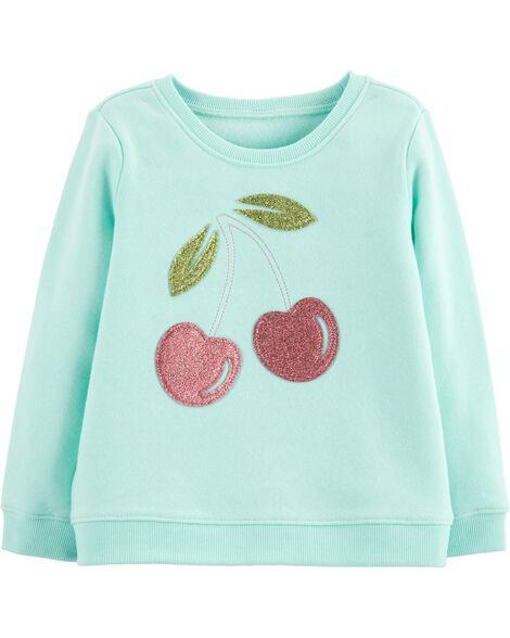 Glitter Cherry Pullover